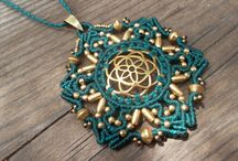 macrame necklaces