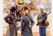 jeźdźcy kozacy