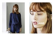 SANS, ss 2015 campaign by Bartek Wieczorek / LAF Artists Management / To download high or low resolution product images visit Mondrianista.com (editorial use only).