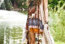 Folk Bohemian Gypsy