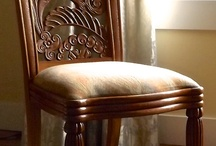 Chairs / Hand carved Chairs - by Agrell Architectural Carving