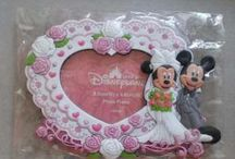 Magnetic Photo frame Disneyland Hongkong