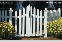 country cottage gates / by Lisa Harris