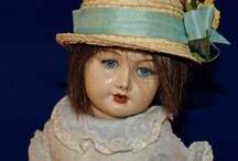 old dolls are my thing.... / I was more of a tom boy but now i just love old dolls ... I have three very old dolls 1930s or 40s ... some where around that time ....