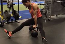 Kettle ball exercises