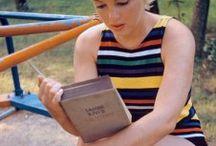 { Caught Reading! } / celebrities reading
