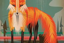 Foxes (no...foxes...the animals) / by Robb Rauen
