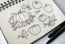 Autumn. Halloween