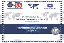 All World Networks Pakistan 100 Awards Winner Student Shelter In Computers / Student Shelter In Computers Win's All World Networks Pakistan 100 Awards Ranks-5 become fast growth companies  Contactus : +923004738405 , http://www.stscomps.com All World Network :  http://www.allworldxchange.com/en/profile/index/id/311