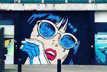 {Street art}