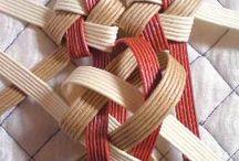 編む・織る
