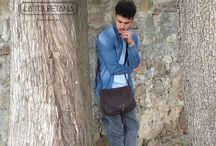 "Catana Vintage ""Coconut"" / Super Model - Jonathan Guerri Buy now at our Shop Online  https://www.latolfetana.com/shop/vintage/limited-edition-modello-catana-vintage-nabuk-colore-marrone/"
