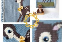 Crochet - Graphghans / by Sanne My