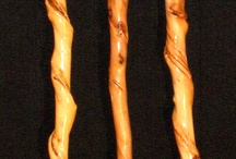 Shepherd's crooks and walking canes
