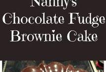 Chocolate Fudge Brownie Cake