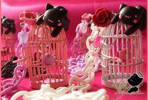 Le Chat Noir Cutisserie - Accessori Handmade Kawaii / Accessori Artigianali Gattosi per ragazze Kawaii <3