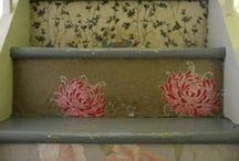 Malowane schody