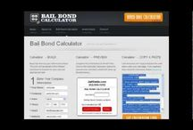Bail Bond Calculator / http://www.BailBondCalculator.com The Jail Guide Bail Bond Calculator will determine the approximate cost for bail bonds in any US state. The calculator is free for all bail bondsman and bail company websites.
