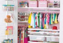 Como organizar un closet infantil / by Vinilos Decorativos MX Mexico Decoracion de interiores con vinil decorativo