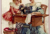 Old Sewing Images