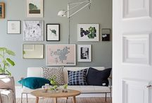 Scandi wall Collage