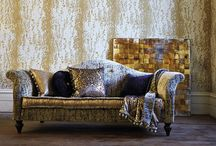Harlequin Leonida Wallpaper - Vintage, distressed wallpaper designs / Stunning Harlequin Leonida Wallpaper available now on our website. Vintage, distressed wallpaper designs have never looked so opulent & grand. Perfect for whole room application or feature walls.