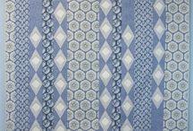 Blue quilts