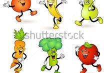 desenhos de legumes