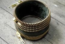 Jewelry making with zippers / by Kristin Burton