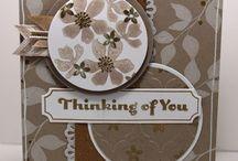 Stampin UP Florale Karten