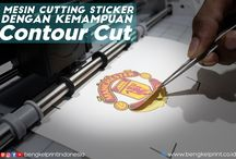 Mesin Cutting Sticker Dengan Kemampuan Contour Cut