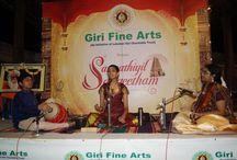 GIRI presents SANNITHIYIL SANGEETAM - 07-Dec-2015 / Vocal concert by Madhumita doraiswamy accompanied by Violin - Parur Ananthalakshmi, Mridangam - Jayandra