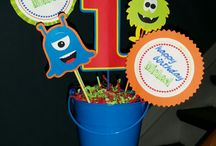 Monster theme bday