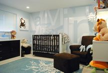 Inspirational Nurseries / We love to see parents and designers who create fabulous environments for children.