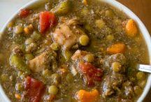 Lentil & Chicken Soup