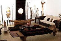 African theme interior