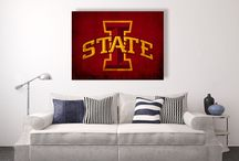 college memories canvas wall art