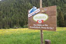 Ein Sommer wie damals / Echte Berge für aktive und glückliche Urlauber Wer zu uns in s Zillertal kommt, liebt Bewegung in den Bergen, schätzt die intakte und facettenreiche Natur und spürt die damit verbundene Entspannung und Erholung. 5x die Woche begleitet Sie unser Wanderguide Sepp und Anni Stock zeigt Ihnen viele Geheimnisse rund um Kräuter und Co