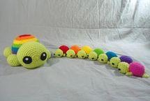knitt, crochet toys