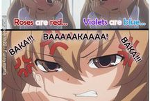 I'm an Tsundere!!! Get it over with!! Baka!! / Anime stuff & boys