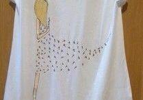 футболки, платья