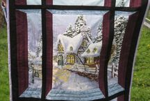 Attic window panel