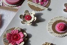 Card candy ( homemade embellishments
