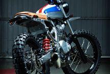 nice retro motorcycle