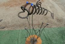 My welding projects :) / by Amanda Bartlett-Ponder