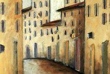 city paintings