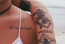 Travel Tattoos / Because I want one!