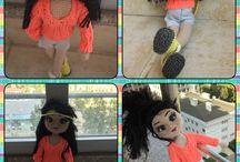 Amigurumi girl / Amigurumi baby doll