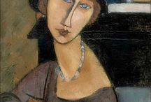 Amedeo Modigliani Jeanne Hebuterne, 1917