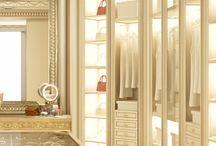 Master baths and closet